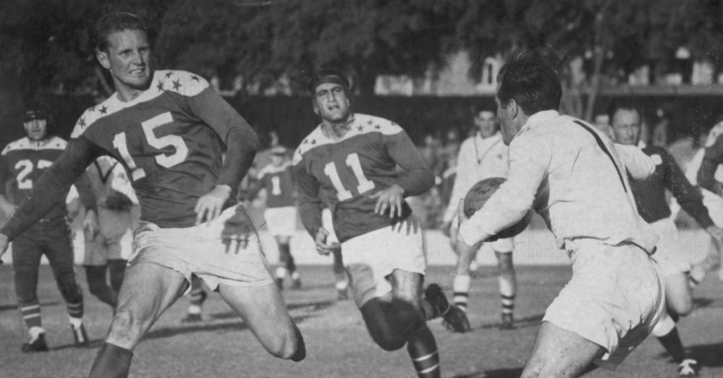 American All Stars Rugby League Tour - 1953